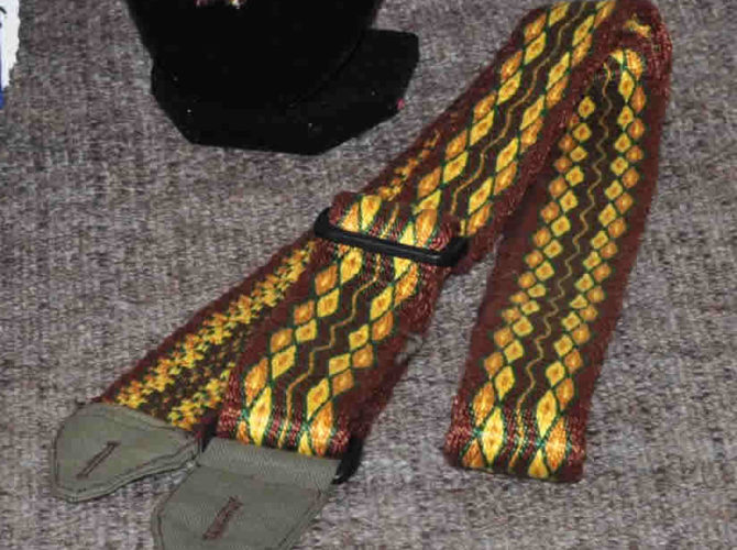 Weave Instrument Straps, Belts, and Leads